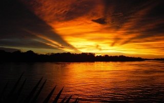 Zambezi Sunset wallpapers and stock photos