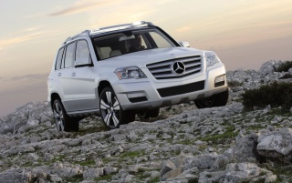 Mercedes GLK wallpapers and stock photos