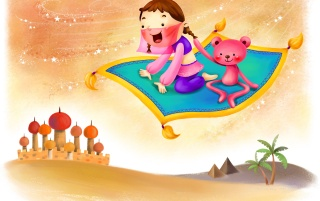 Flying Carpet wallpapers and stock photos