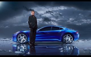Fisker Karma wallpapers and stock photos