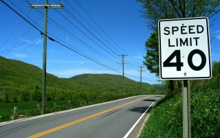 Speed limit 40 wallpapers and stock photos