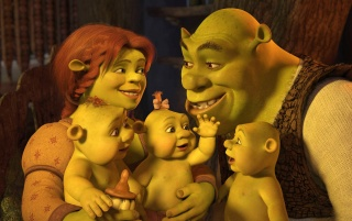 Shrek Familly wallpapers and stock photos