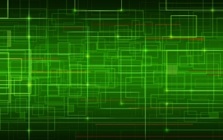 Random: Network in Green
