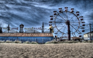 Beach Carousel wallpapers and stock photos