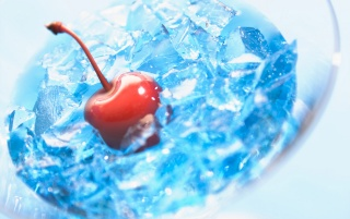 Ice and Cherry wallpapers and stock photos