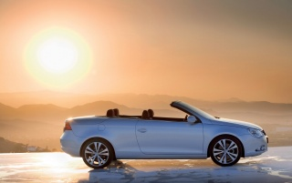 VW Eos partea de soare wallpapers and stock photos