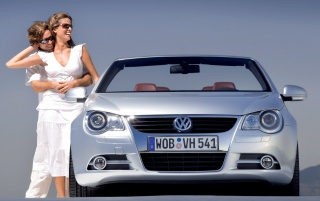 VW Eos couple wallpapers and stock photos