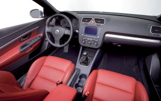 Random: VW Eos interior