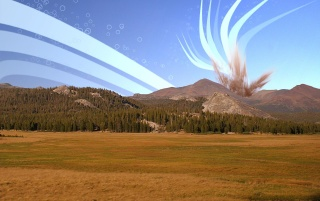 Tuolumne Skies wallpapers and stock photos