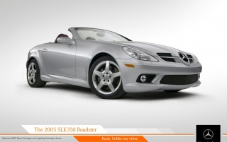 SLK 350 Roadster wallpapers and stock photos