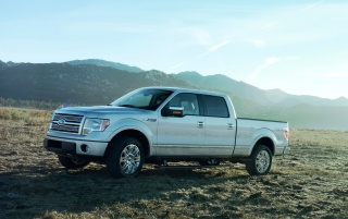 Ford F150 Silver wallpapers and stock photos