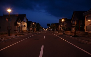 Suburbia street wallpapers and stock photos