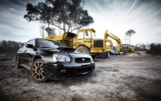 Next: Black Subaru STI