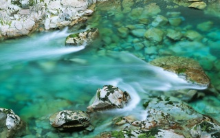 Mountain river wallpapers and stock photos