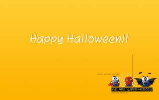 Halloween-Super Heros wallpapers and stock photos