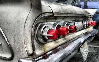 Classic tail lights wallpapers and stock photos
