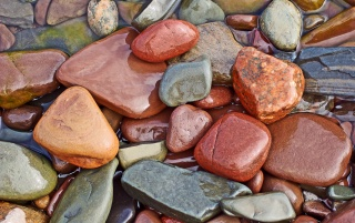 Wet rocks wallpapers and stock photos