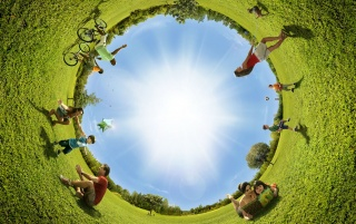 Circular view wallpapers and stock photos