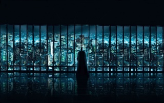 Batman watching wallpapers and stock photos