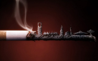 Smoked Cigarette Wallpapers And Stock Photos