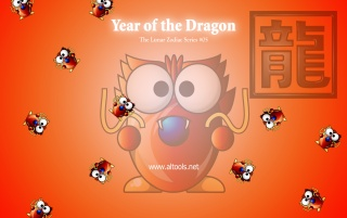 ALTools Year of Dragon wallpapers and stock photos
