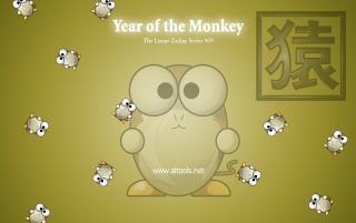 ALTools Year of Monkey wallpapers and stock photos