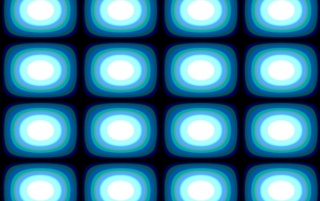 Op Art Blue Blobs wallpapers and stock photos