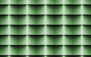 Random: Op Art Horizontal Blinds Green
