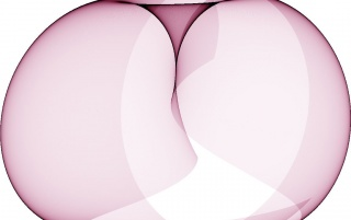 Op Art Sine Curves Fuchsia 4 wallpapers and stock photos