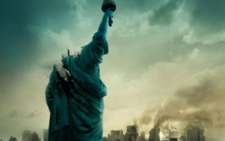 Cloverfield Poster wallpapers and stock photos