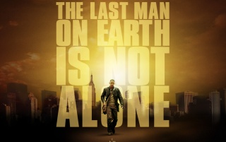 I am Legend poster wallpapers and stock photos