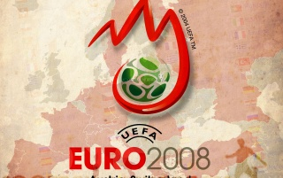 Euro 2008 green logo wallpapers and stock photos