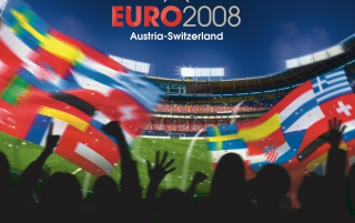 Euro 2008 fans wallpapers and stock photos