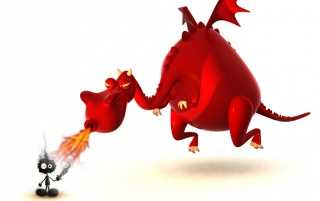 Dragon caricatura wallpapers and stock photos