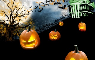 Spooky Halloween wallpapers and stock photos