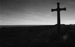 Cross and grave wallpapers and stock photos
