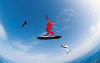 Sky Surfing wallpapers and stock photos