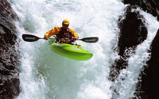 Water rafting wallpapers and stock photos