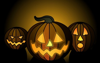 Halloween pumpkins wallpapers and stock photos