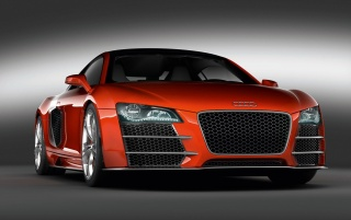 Red R8 aggressive wallpapers and stock photos