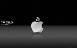 Apple + PD logo wallpapers and stock photos
