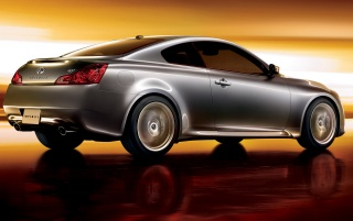 Infiniti G37 rear wallpapers and stock photos