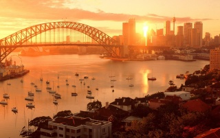 Random: Sydney sundown