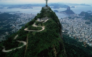 view from corcovado wallpapers and stock photos