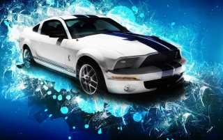 Mustang GT 500 wallpapers and stock photos