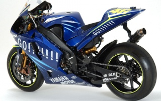 Yamaha M1 Rossi wallpapers and stock photos