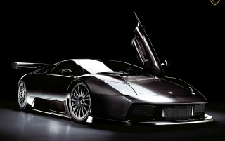Murcielago R GT front wallpapers and stock photos