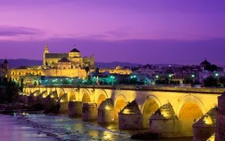 roman bridg guadalquivir river wallpapers and stock photos