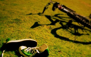 Bike and shoes wallpapers and stock photos