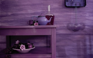 Purple wall wallpapers and stock photos